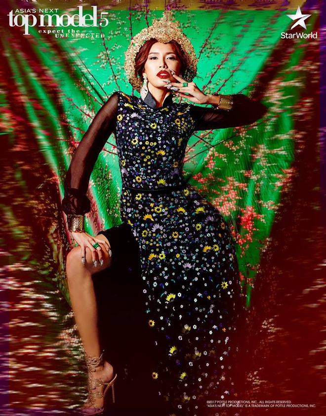 Minh Tu khong the vuon toi ngoi quan quan Next Top Model chau A 2017 hinh anh 2