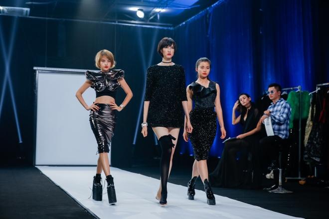 Co gai cao 1,9 m dang the hien kem nhat o Vietnam's Next Top Model hinh anh 1