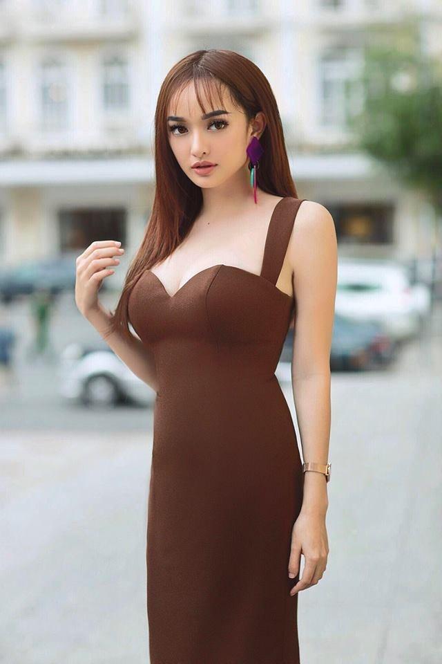 Hot girl 'Em chua 18' Kaity Nguyen chay theo thoi trang gia truoc tuoi