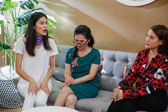 'Me chong quai ac' Lan Huong nao loan nha chung Next Top Model hinh anh 1
