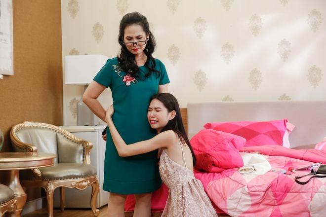 'Me chong quai ac' Lan Huong nao loan nha chung Next Top Model hinh anh 2
