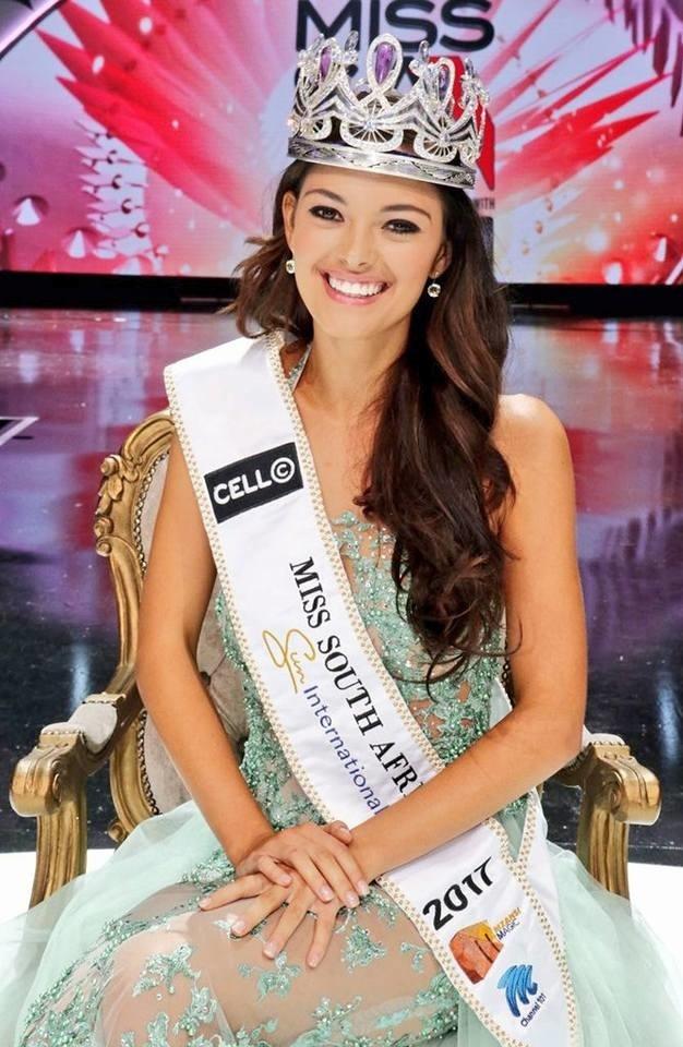 Hoa hau gay tranh cai cua Nam Phi du thi Miss Universe hinh anh 1