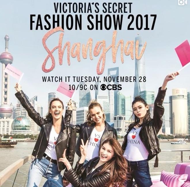 Victoria's Secret lan dau to chuc show noi y o Trung Quoc hinh anh 1