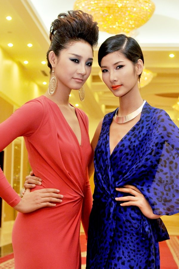 Hoang Thuy 'lot xac' tu Next Top Model den Hoa hau Hoan vu Viet Nam hinh anh 5