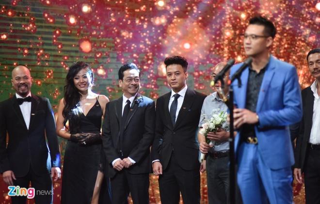 Nghe si Hoang Dung va phim 'Nguoi phan xu' doat giai VTV Awards hinh anh 4