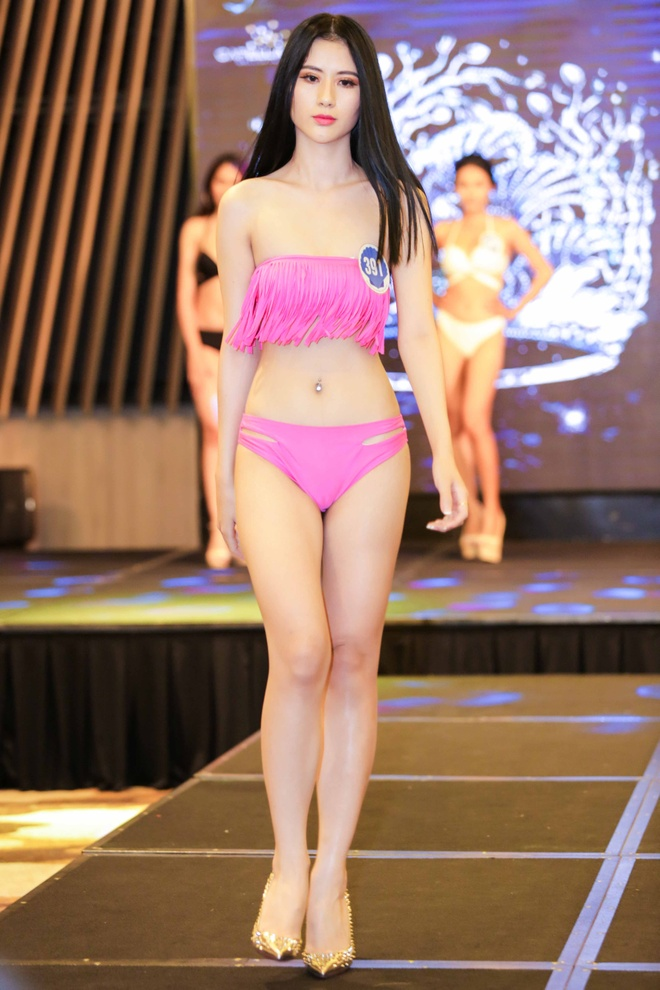 Thi sinh Hoa hau Dai duong thi bikini: Nguoi eo nho, ke eo banh my hinh anh 6