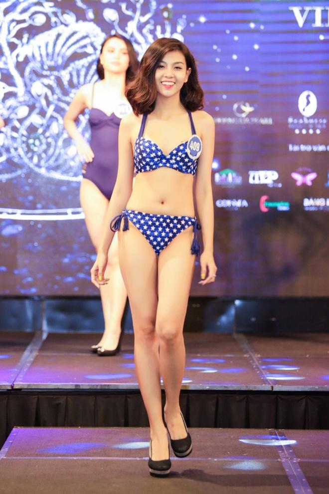 Thi sinh Hoa hau Dai duong thi bikini: Nguoi eo nho, ke eo banh my hinh anh 3
