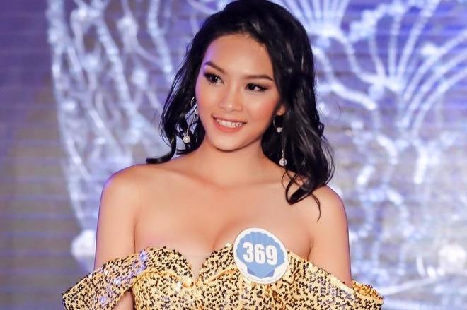 Con gai dien vien Kieu Trinh vao chung ket Hoa hau Dai duong 2017 hinh anh