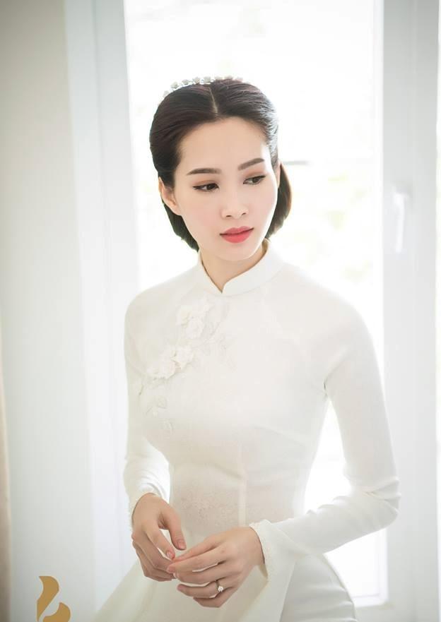 Dam cuoi Hoa hau Thu Thao anh 7