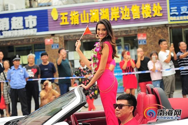 Nguoi dep Hoa hau The gioi 2017 rang ro o Tam A hinh anh 4