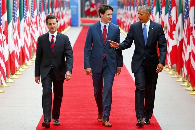 Thu tuong Canada: Chinh tri gia mac dep, ngoai giao bang nhung doi tat hinh anh 6
