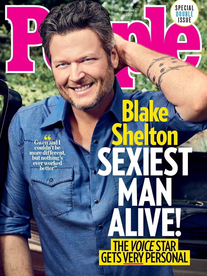 Blake Shelton co xung la quy ong quyen ru nhat 2017? hinh anh 1
