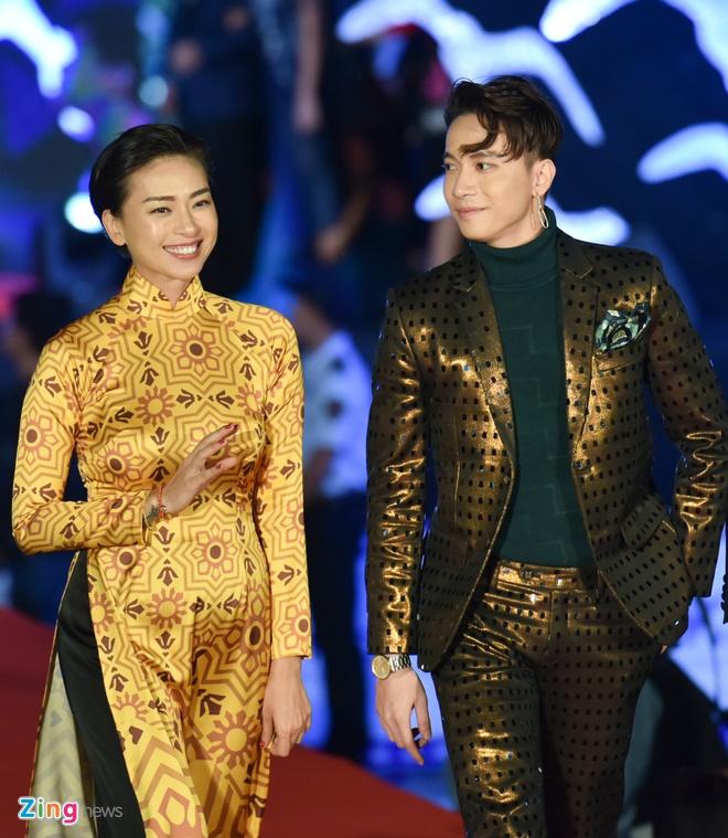 Sao Viet rang ro tren tham do Lien hoan phim Viet Nam 2017 hinh anh 9