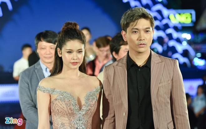 Sao Viet rang ro tren tham do Lien hoan phim Viet Nam 2017 hinh anh 4