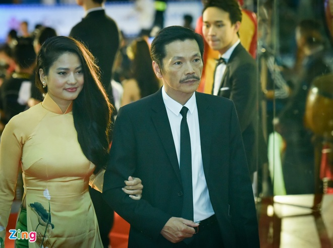 Sao Viet rang ro tren tham do Lien hoan phim Viet Nam 2017 hinh anh 12