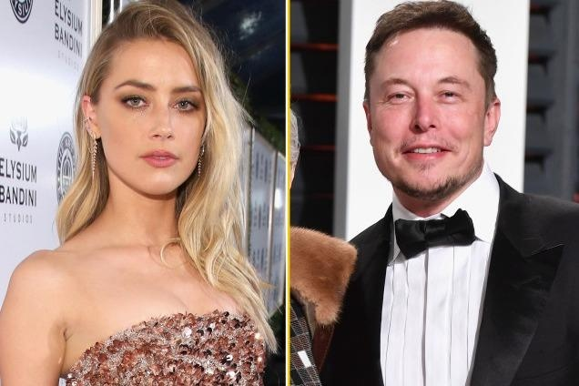 'Nguoi dep dao mo' Amber Heard noi lai tinh xua voi ty phu Elon Musk? hinh anh