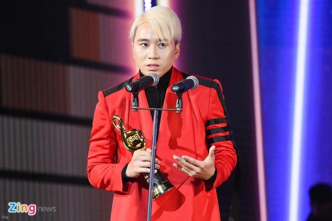 Min va Soobin Hoang Son thang lon o Zing Music Awards 2017 hinh anh 22