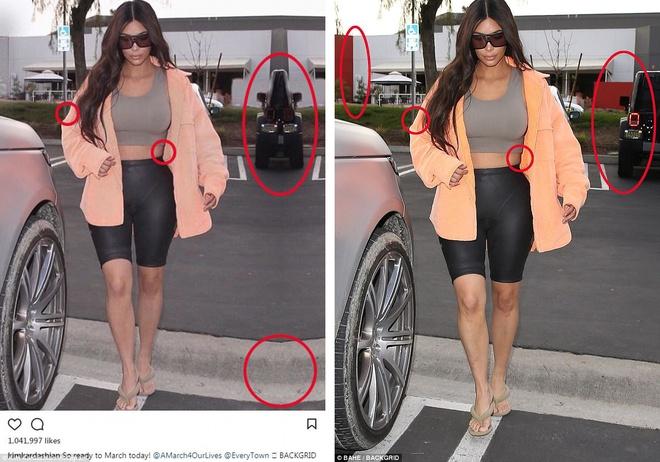 Kim Kardashian lien tuc bi chi trich lam dung photoshop hinh anh 2