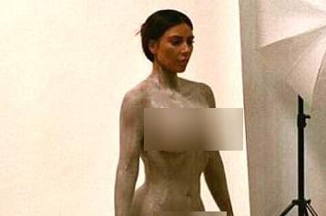 Kim Kardashian bi chi trich vi dang qua nhieu anh nude hinh anh