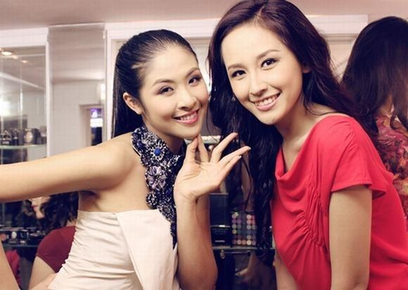 Moi duyen dac biet cua 2 hoa hau Ngoc Han va Mai Phuong Thuy hinh anh