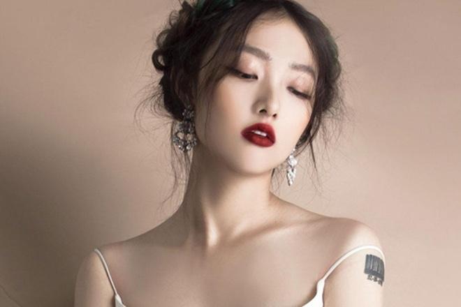 Em gai 20 tuoi xinh dep cua nguoi mau Trang Khieu thi The Face hinh anh