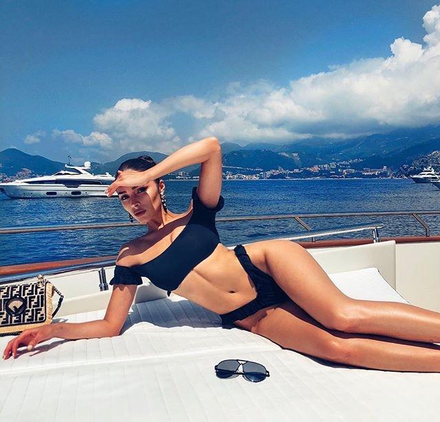 Olivia Culpo: Hoa hau Hoan vu sexy so mot the gioi hinh anh 1