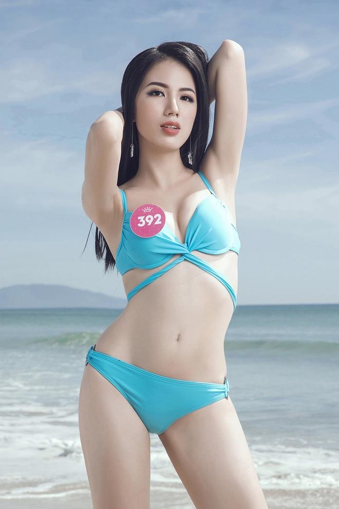 Hoa hau Viet Nam 2018 tung anh bikini cua thi sinh truoc chung ket hinh anh 5