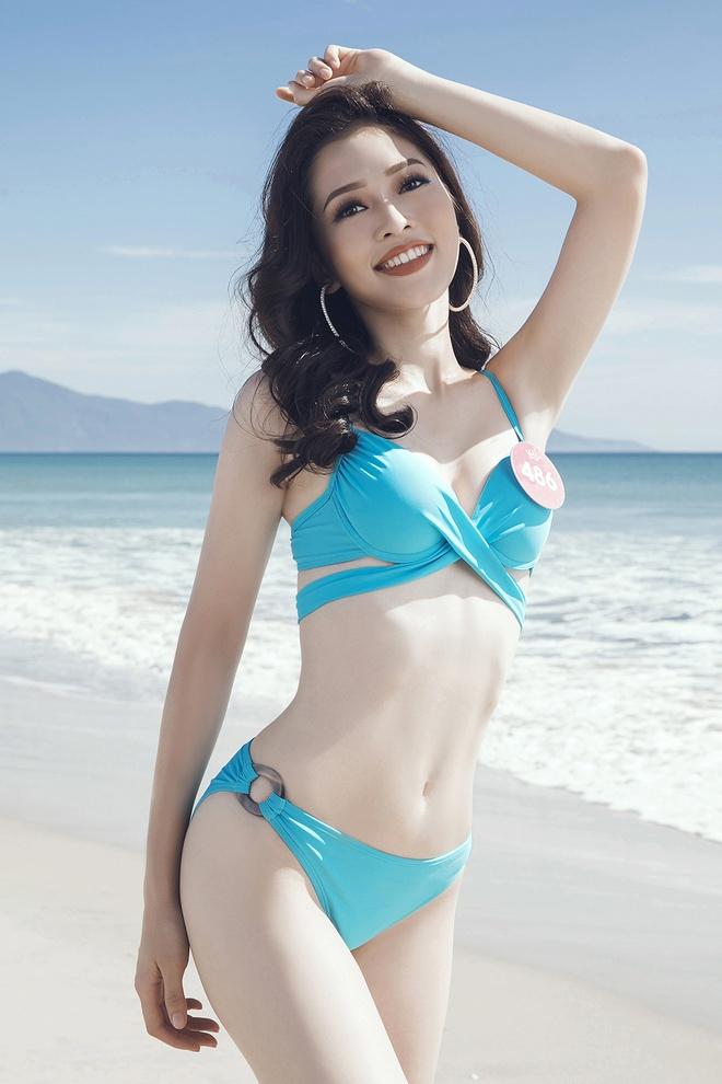 Hoa hau Viet Nam 2018 tung anh bikini cua thi sinh truoc chung ket hinh anh 4