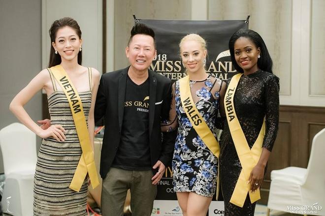 Nguoi dep Thai Lan noi bat o Hoa hau Hoa binh 2018 hinh anh 9