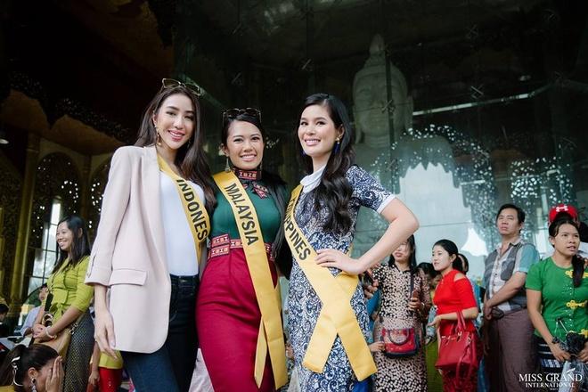 Nguoi dep Thai Lan noi bat o Hoa hau Hoa binh 2018 hinh anh 4
