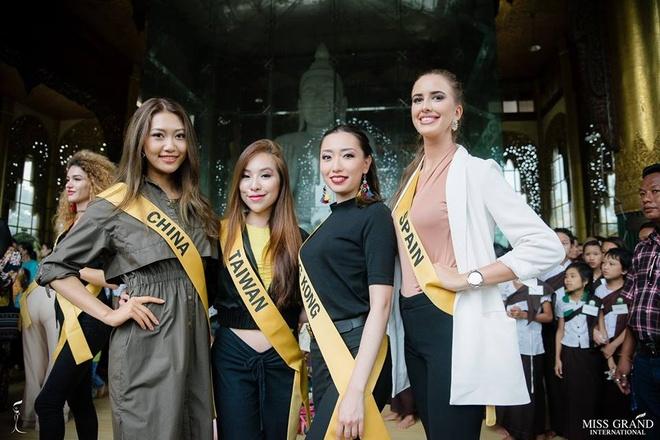 Nguoi dep Thai Lan noi bat o Hoa hau Hoa binh 2018 hinh anh 7