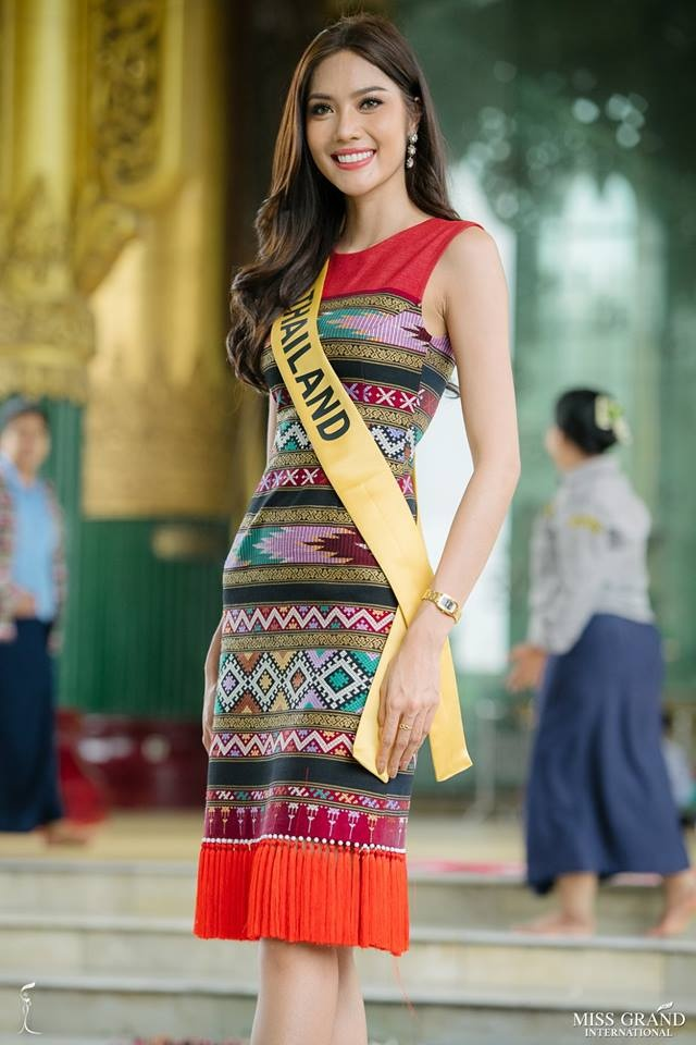 Nguoi dep Thai Lan noi bat o Hoa hau Hoa binh 2018 hinh anh 3