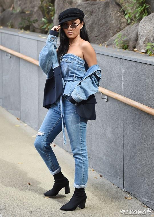 Sao Viet va sao Han tiep tuc do bo Seoul Fashion Week 2019 hinh anh 5