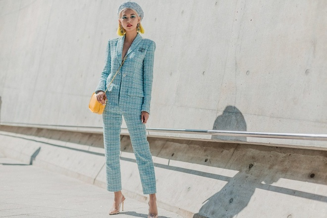 Sao Viet va sao Han tiep tuc do bo Seoul Fashion Week 2019 hinh anh 2