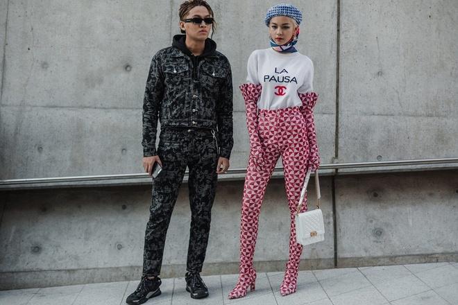 Sao Viet va sao Han tiep tuc do bo Seoul Fashion Week 2019 hinh anh 1