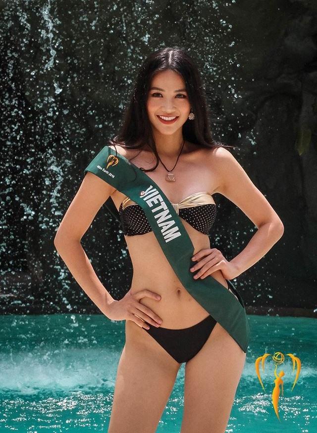 Voc dang goi cam cua nguoi dep Viet dang thi Hoa hau Trai dat 2018 hinh anh 2