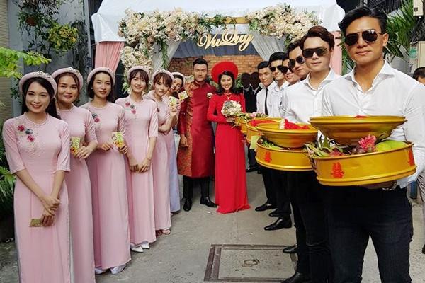 Cuong Seven, Hieu Nguyen be trap an hoi cho dien vien Xuan Phuc hinh anh