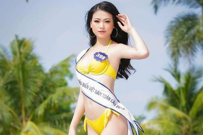 Hoa hau Phuong Khanh - Nguoi dep 'vo danh' vut sang sau mot dem hinh anh