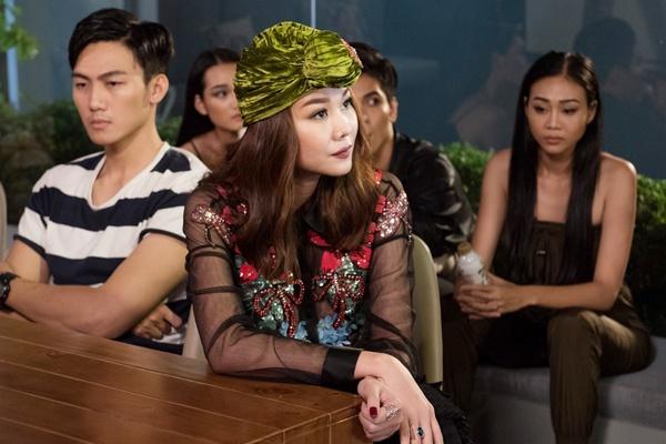 The Face: Thanh Hang khien thi sinh buc xuc, Minh Hang tuc gian bo ve hinh anh