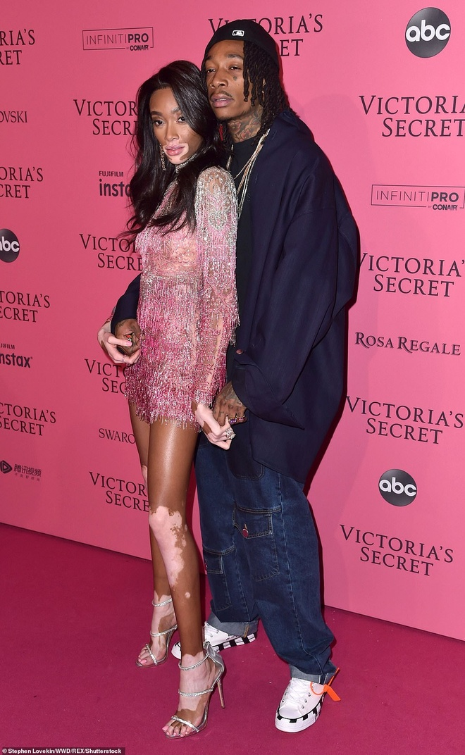 Bella Hadid dien mot khong noi y du tiec Victoria's Secret Show hinh anh 11