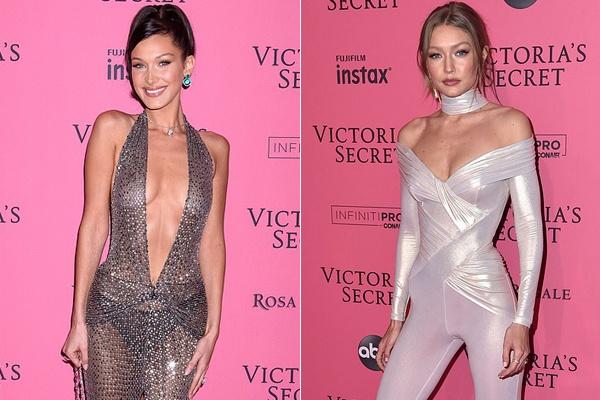 Bella Hadid dien mot khong noi y du tiec Victoria's Secret Show hinh anh