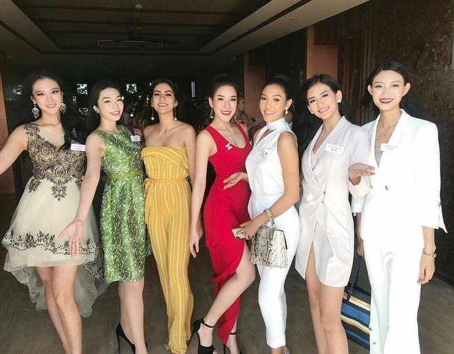 Tieu Vy va cac nguoi dep Miss World rang ro tai Trung Quoc hinh anh 10