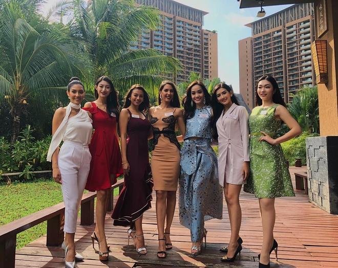Tieu Vy va cac nguoi dep Miss World rang ro tai Trung Quoc hinh anh 9