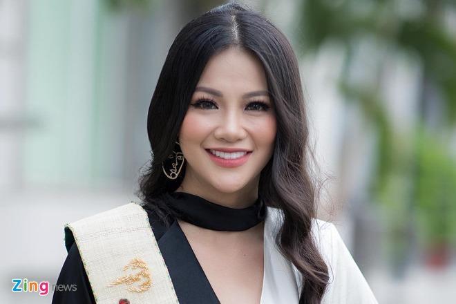 Hoa hau Phuong Khanh: 'Toi co lam rang, chinh mot so net tren mat' hinh anh