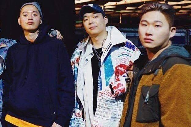 Rapper Han dien ao khoac in hinh bao bi cam con co Viet Nam hinh anh
