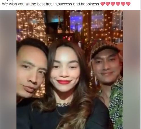 Sao Viet hanh phuc don nam moi 2019 ben gia dinh, ban be hinh anh 11