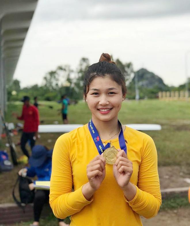 Nhan sac van dong vien dua thuyen 9X du thi Hoa hau Ban sac Viet 2019 hinh anh 7