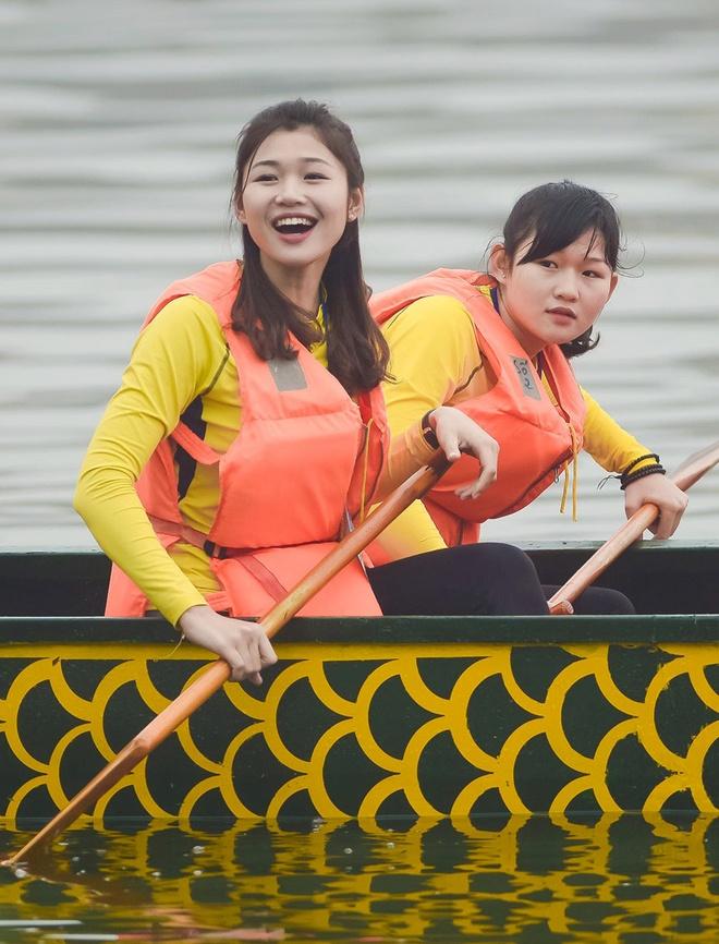 Nhan sac van dong vien dua thuyen 9X du thi Hoa hau Ban sac Viet 2019 hinh anh 8