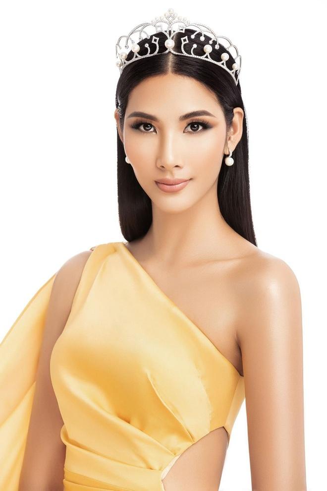 Hoang Thuy dai dien Viet Nam thi Hoa hau Hoan vu 2019 hinh anh 2