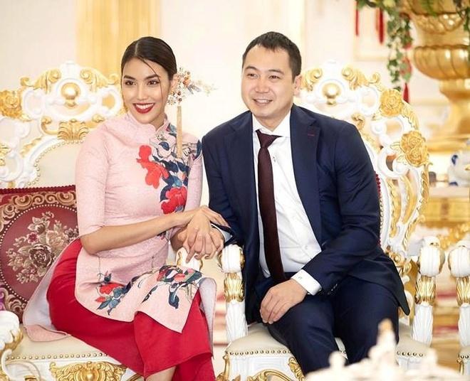 Lan Khue mang thai con dau long voi chong giau co hinh anh 2